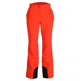 Icepeak, Freyung pantalones de esquí slim fit mujeres coral rojo