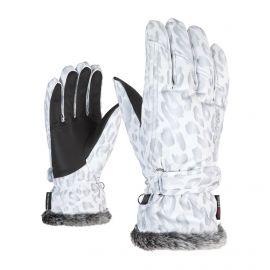 White 6 Ziener Gloves KEM Guantes De Esqu/í De Mujer