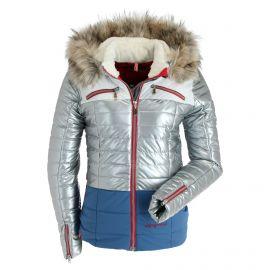 Almgwand, Salzeck KP, chaqueta de esquí, mujeres, silver/ azul