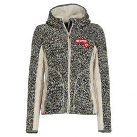 Almgwand, Steinerfelsen-1, chaqueta de capa intermedia, mujeres, beige/gris