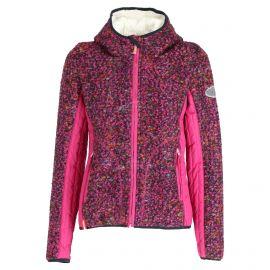 Almgwand, Steinerfelsen-1, chaqueta de capa intermedia, mujeres, patterned  púrpura/rosa