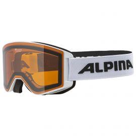 Alpina, Narkoja Hircon Goggle, gafas de esquí, blanco
