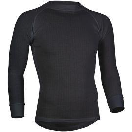 Avento, camisa termoactiva, hombres, negro