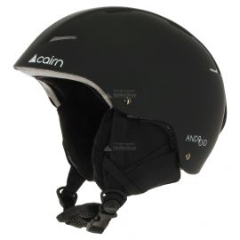 Cairn, Android, casco de esquí, negro mate
