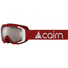 Cairn Booster, Ski goggles Children, mat red mat white