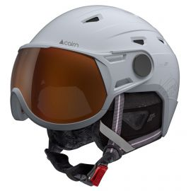 Cairn, Shuffle Visor Photochromic casco con visera blanco