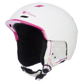 Cairn, casco de esquí, Equalizer, blanco con fucsia mate