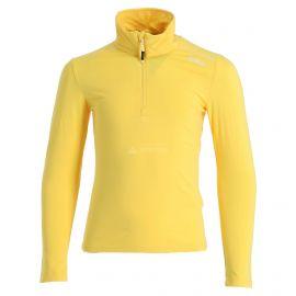 CMP, Half zip shirt melange, jersey, niños, melange amarillo