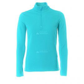 CMP, Half zip shirt, jersey, mujeres, curacao azul
