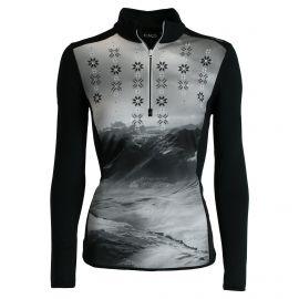 CMP, Half zip shirt, jersey, mujeres, negro