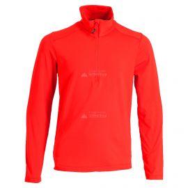 CMP, Half zip shirt, jersey, niños, ferrari rojo
