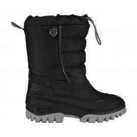 CMP, Kids Hanki snowboot, botas de nieve, niños, negro