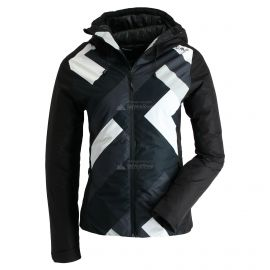 CMP, Ski jacket fix hood print, chaqueta de esquí, mujeres, negro
