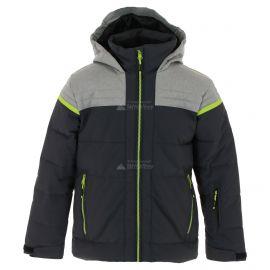 CMP, Ski jacket fix hood, chaqueta de esquí, niños, antracite azul