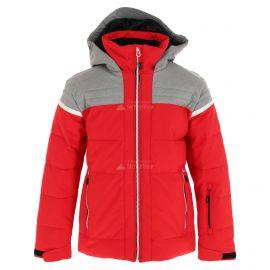 CMP, Ski jacket fix hood, chaqueta de esquí, niños, ferrari rojo