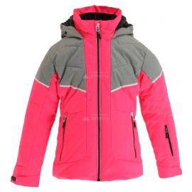 CMP, Ski jacket fix hood, chaqueta de esquí, niños, fuxia fluo rosa