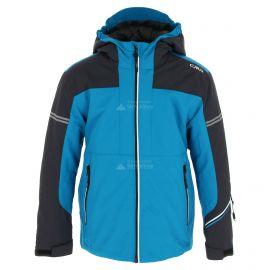 CMP, Ski jacket fix hood, chaqueta de esquí, niños, river azul