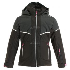 CMP, Ski jacket fix hood, chaqueta de esquí, niños, amarillo