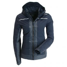 CMP, Ski jacket zip hood, chaqueta de esquí, mujeres, azul