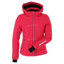 CMP, Softshell jacket zip hood, chaqueta de esquí softshell, mujeres, rhodamine rosa