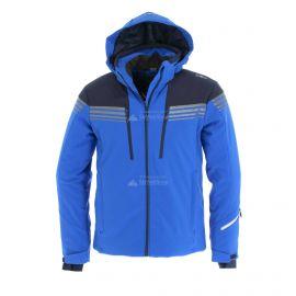 CMP, Softshell jacket zip hood, chaqueta de esquí softshell, hombres, royal azul