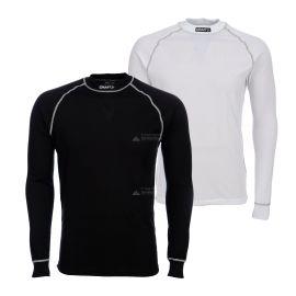 Craft, Active Comfort 2 Pack, camisa termoactiva, hombres, blanco/negro