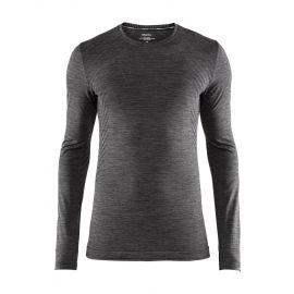 Craft, Fuseknit comfort RN LS camisa termoactiva hombres Melange negro