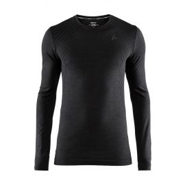 Craft, Fuseknit comfort RN LS camisa termoactiva hombres negro