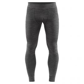Craft, Fuseknit comfort , pantalón termoactivo, hombres, melange negro