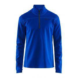 Craft, Pin half zip jersey hombres burst azul