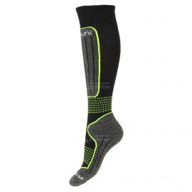 Deluni, 1 paar, calcetines de esquí, niños, negro