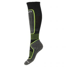 Deluni, 1 paar, calcetines de esquí, negro