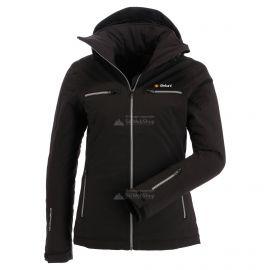 Deluni, chaqueta de esquí, mujeres, negra