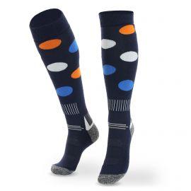 Deluni, Joyride Dots calcetines de esquí azul