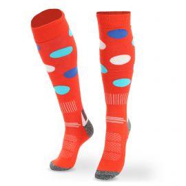 Deluni, Joyride Dots calcetines de esquí naranja