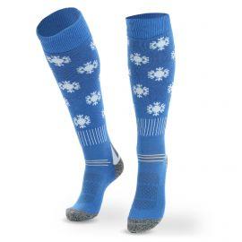 Deluni, Joyride Snowflakes calcetines de esquí azul