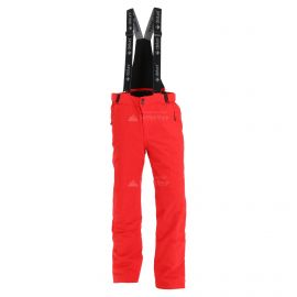 Deluni, pantalones de esquí, hombres, rojo