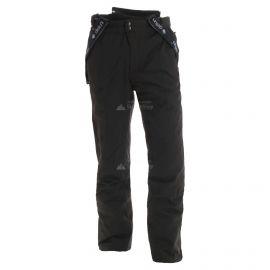 Deluni, pantalones de esquí, unisex, negro