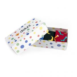 Deluni, Socks in a Box Joyride Mix (giftbox) calcetines de esquí multicolor