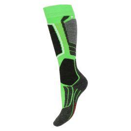 Falke SK2, calcetines de esquí, niños, verde vivido