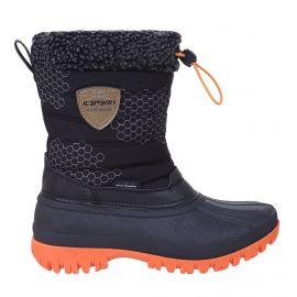 Icepeak, Atka JR, botas de nieve, niños, negro