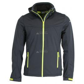 Icepeak, Biggs chaqueta de esquí softshell hombres anthracite  gris