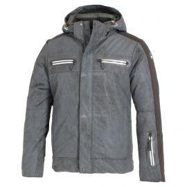 Icepeak, Easton, chaqueta de esquí, hombres, anthracite gris