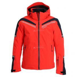 Icepeak, Fabius, chaqueta de esquí, hombres, coral rojo