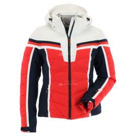 Icepeak, Flora, chaqueta de esquí, mujeres, coral rojo