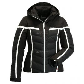 Icepeak, Flora, chaqueta de esquí, mujeres, negro