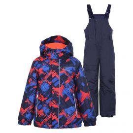 Icepeak, Jetmore KD, conjunto de esquí, niños, aqua azul