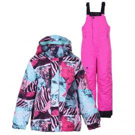 Icepeak, Jetmore KD, conjunto de esquí, niños, hot rosa
