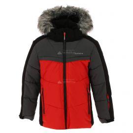 Icepeak, Lake JR, chaqueta de esquí, niños, coral rojo
