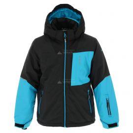 Icepeak, Leith JR, chaqueta de esquí, niños, melange negro